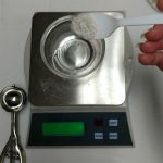 Blackberry Bling Bling Bubble Bar Recipe Adding the Mica Powder