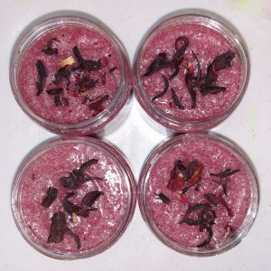 Foaming Hibiscus Sugar Scrub