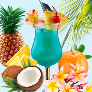 Fragrance Oils for the New Year: Blue Hawaiian Fragrance Oil