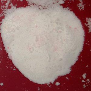 Foaming Rose Petal Bath Bombs Recipe Adding the Second Layer