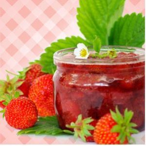 Strawberry Scented Cosmetics and Candles: Strawberry Preserves Fragrance Oil