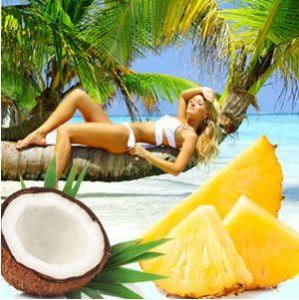 Coconut Candle and Soap Making Supplies: Hawaiian Suntan Fragrance Oil