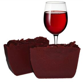 Valentines Day Soap Recipes: Wine Cold Process Soap Recipe