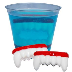 Craft Ideas for Fall Dracula's Dentures Recipe