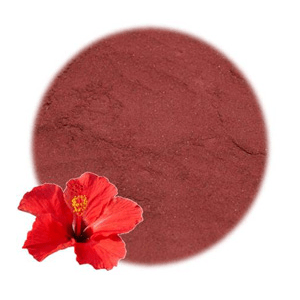 Natural Soap Making Supplies: Hibiscus Flower Powder