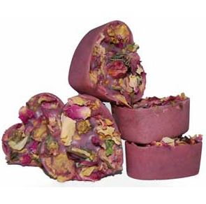15 Ways to Use Rose Petals Rose Violet Bath Melts Recipe