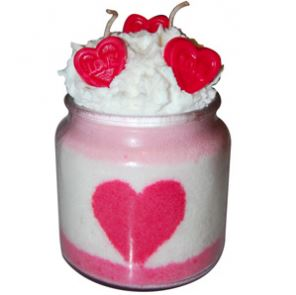 20 Valentine's Day Crafts Valentine's Day Candle Recipe