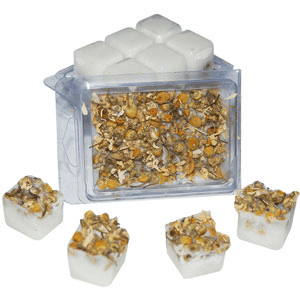 10 Ways to Use Chamomile: Tranquility Bath Melts Recipe