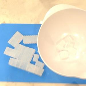 Bamboo Hemp Soap Recipe Preparing the Clear Layer of Soap