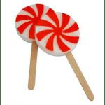 25 Ways to Use Peppermint: Pinwheel Mold