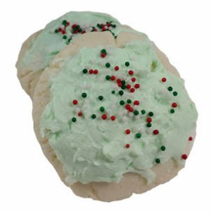 Christmas Bath Cookies Recipe