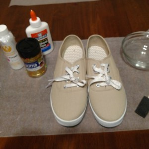 Scented Bling Tennis Shoes Recipe: Other Ingredients and Equipment Needed