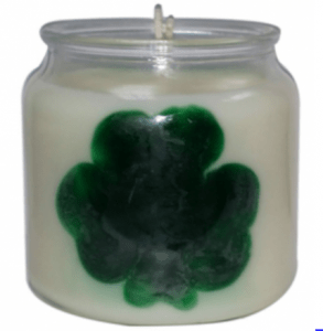 Crafts for St. Patrick's Day St. Patrick's Day Candle Recipe