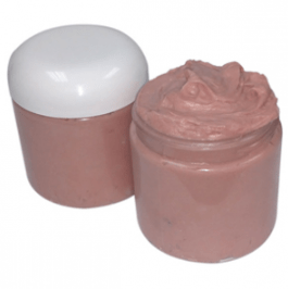 Herbal Scrub Recipes: Whipped Rose Clay Shaving Cream Recipe