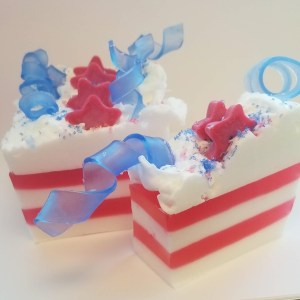 Independence Day Soap Recipe