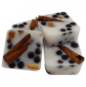 Candle Ideas for Christmas:Rustic Wax Melts Recipe