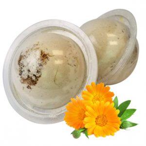Herbal Bath Bombs from the Garden: Calendula Bath Bomb Recipe