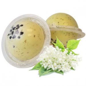 Herbal Bath Bombs from the Garden: Elder Flowers Bath Bomb Recipe