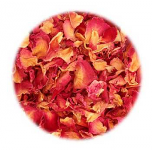 Rose Bath Bomb Recipe: Rose Buds and Petals in Cosmetics