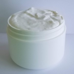 Aloe Body Cream Recipe: Packaging Up Your Product