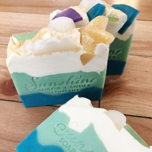 Sunshine Soap and Candle Company: Beach Bum Cold Process Soap