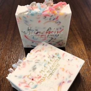 "Sunshine Soap and Candle Company: ""Life's A Party"" Cold Process Soap"