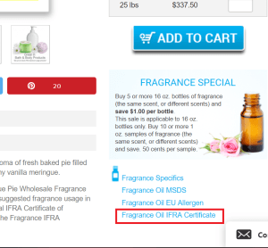 How Much Fragrance Do I Add: Where Do You Find the IFRA?