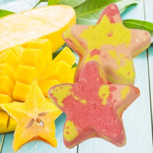 Star Fruit Mango Bubble Bars Recipe