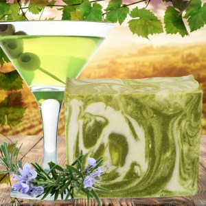 Gin Martini Cold Process Soap Recipe