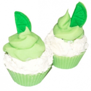 Castor Oil in Soap: Lime Cupcake CP Soap Recipe