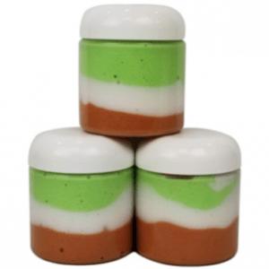 10 Foaming Bath Whip Recipes - Pearamel Layered Whipped Soap Recipe
