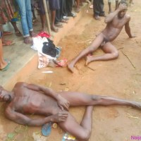 PHOTOS OF 2 RAPISTS FROM ikwuano LGA ,Ogbuelle village, Umuahia, Abia state Caught With 2 Young Girls