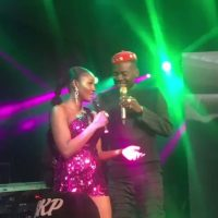 Caught In The Act! Simi Deletes Post Of Her Kissing Adekunle Gold (Check It Out!)