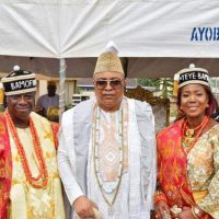 Barr Adebayo Onafuwa & Mrs Arinola Onafuwa Crowned Bamofin of REMOLAND and YEYE Bamofin of REMOLAND