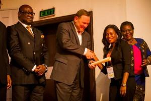 Halimat inducted  into LEAP Africa's Social Innovators Programme  2013(1)