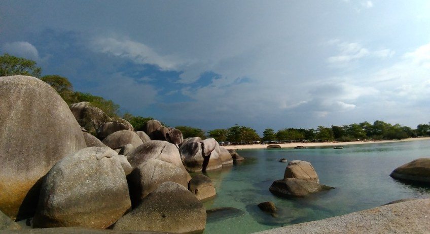 backpacker belitung