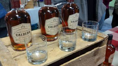 Caldera Distilling is located in River John. Their Hurricane 5 please the more sophisticated palette. Attractively labeled, pair it with a glass. You will find them at the Market December 7, 10 and 17th.