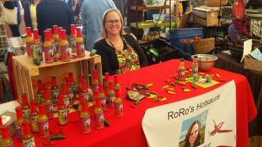 RoRo's hotsauce....for the heat lover on your list. Makes a great stocking stuffer. Holiday gift packs are also available.