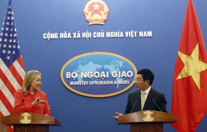 VIETNAM US DIPLOMACY