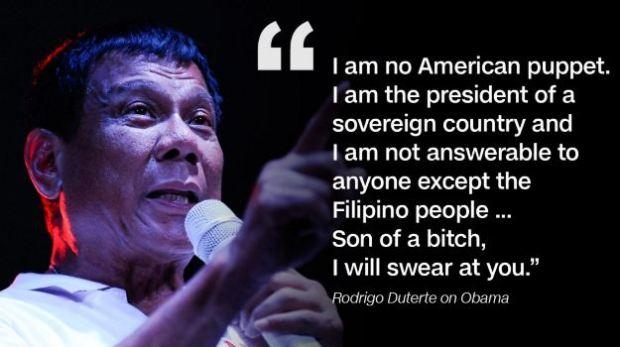 Đằng sau sự cự tuyệt Mỹ của Duterte: Một đời oán hận
