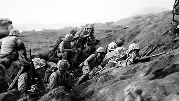 19/02/1945: Thủy quân Lục chiến Mỹ chiếm Iwo Jima