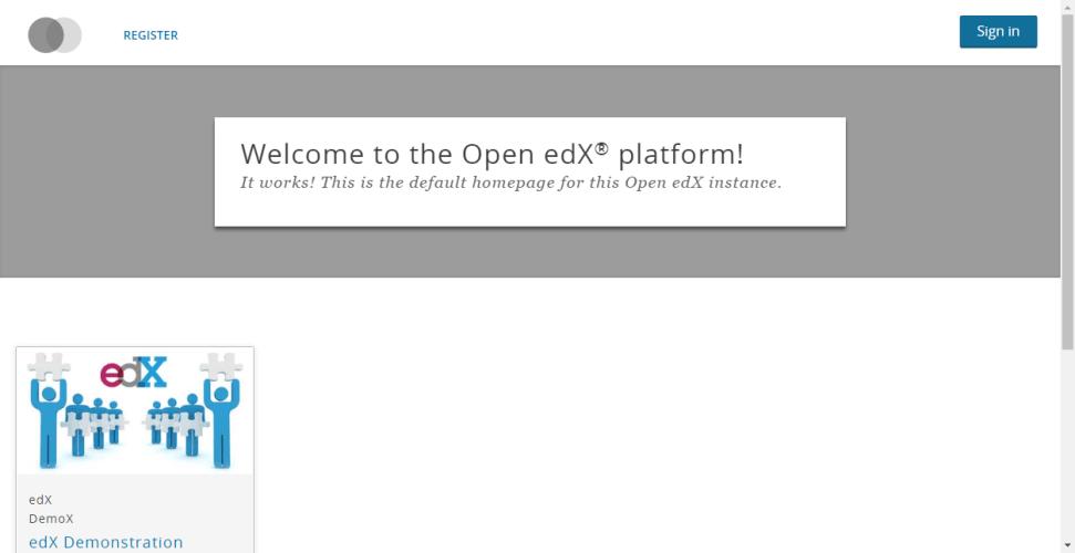Open edX [eucalyptus.2] install step