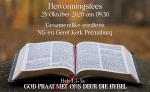 Heb 1:1-3a GOD PRAAT MET ONS DEUR DIE BYBEL