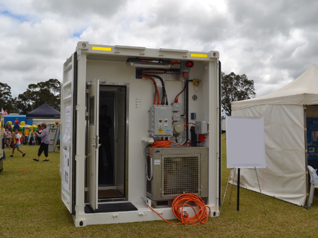 Mobile containerised laboratories
