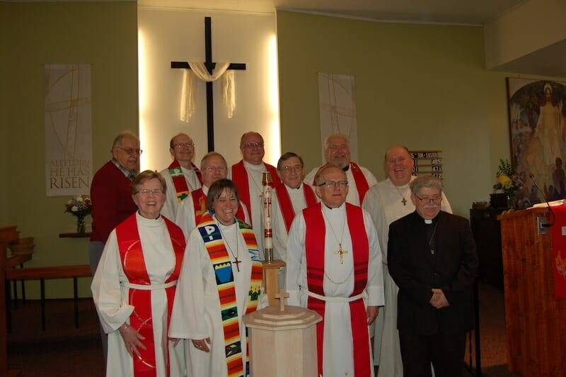 Rev. Kay Richter installed as pastor of the New Evangelical Lutheran Parish – April 24, 2016