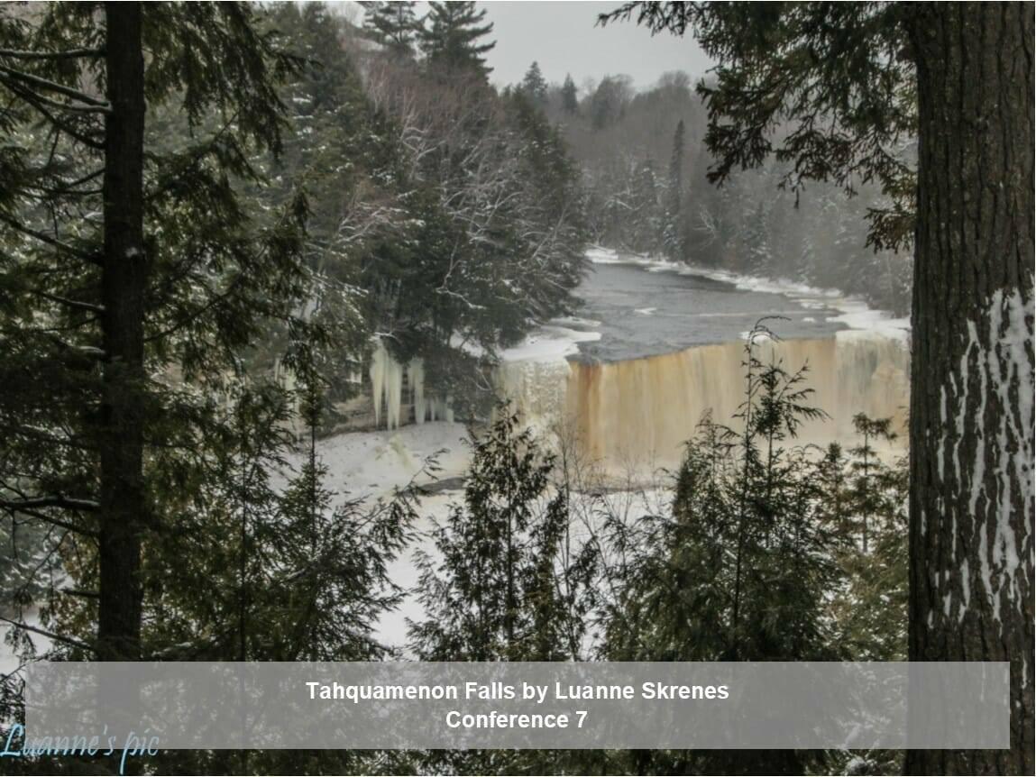 Tahquamenon Falls by Luanne Skrenes