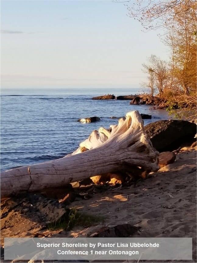 Superior Shoreline by Pastor Lisa Ubbelohde