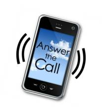 answer the call section