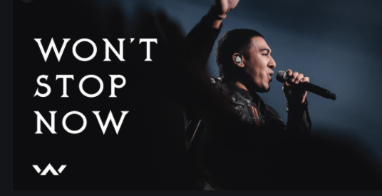 Elevation Worship Releases New Single 'Won't Stop Now'