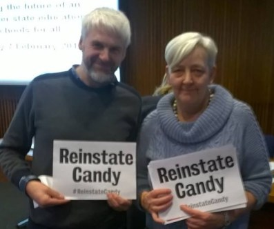 Anti Academies Alliance supports Candy